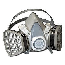 5000 Series Half Facepiece Respirators Medium