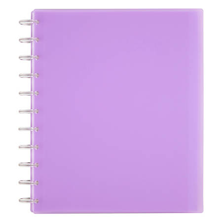 """TUL Custom Note-Taking System Discbound Student Notebook, 8-1/2"""" x 11"""", Purple"""