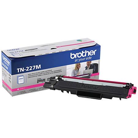 Brother TN-227M High-Yield Magenta Toner Cartridge