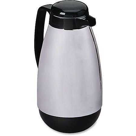 Hormel® Chrome/Black Carafe, 1.0 Liter