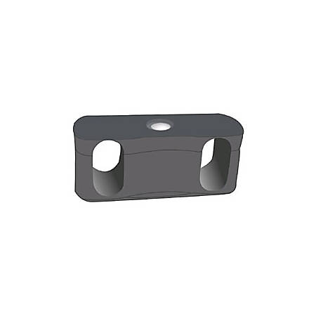 OFM Ganging Bracket For Rico Stacking Chairs With Arms, Black