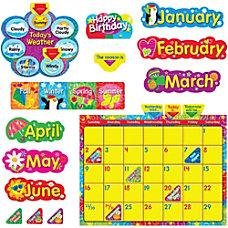 Trend WipeOff StarsSwirls Calendar Bulletin Board