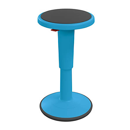 "Hierarchy Height-Adjustable Grow Stool, 18""H, Blue"