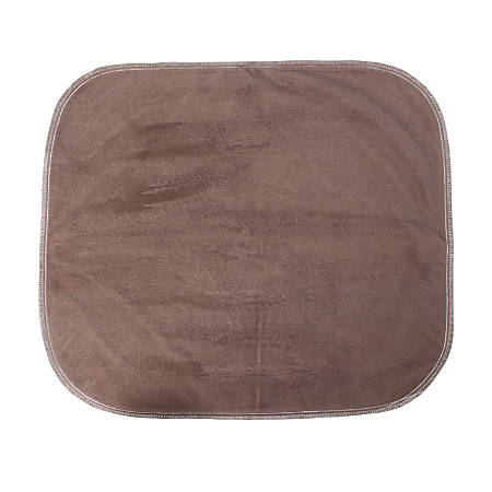"DMI® Water-Resistant Protective Seat Pad, 18"" x 20"", Brown"