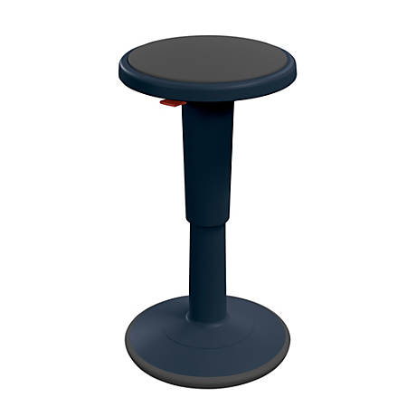 "Hierarchy Height-Adjustable Grow Stool, 18""H, Navy"