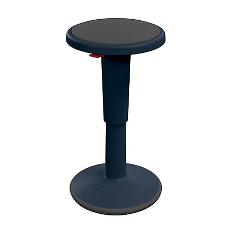 Hierarchy Height Adjustable Grow Stool 24 H Navy Office
