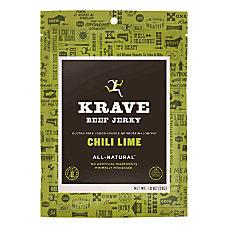 KRAVE Jerky Chili Lime Beef Jerky