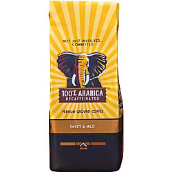 Westrock 100percent Arabica Decaffeinated Ground Coffee