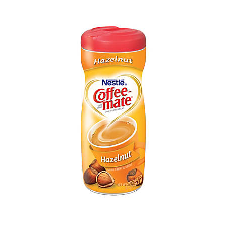 Nestlé® Coffee-mate Powdered Creamer Canister, Hazelnut, 15 Oz