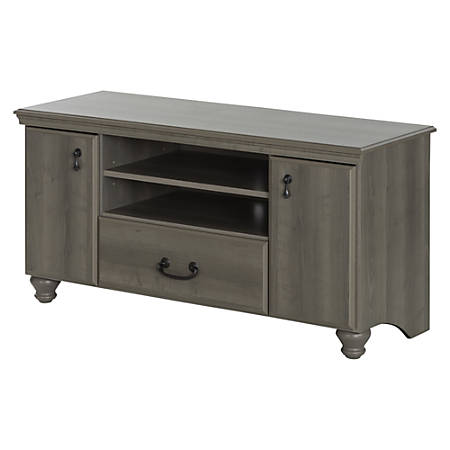 """South Shore Noble TV Stand For TVs Up To 55"""", Gray Maple"""