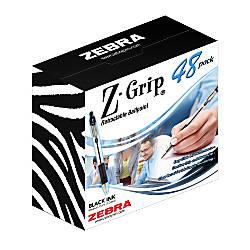 Zebra Z Grip Retractable Ballpoint Pens