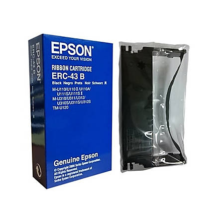 Epson ERC-43B Ribbon Cartridge - Black