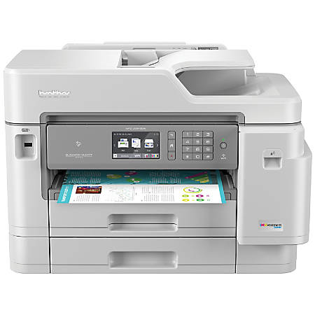 Brother INKvestment Tank All-in-One Wireless Color Inkjet Printer, Scanner, Copier, Fax, MFC-J5945DW