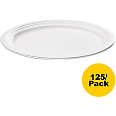NatureHouse Bagasse Oval Plates Pack Of