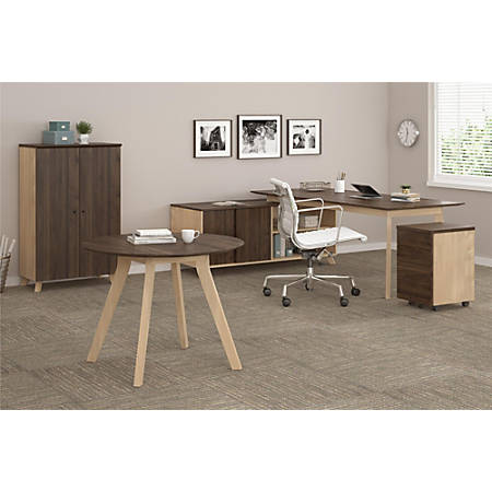 Ameriwood™ Home AX1 5-Piece Executive Office Set, Walnut