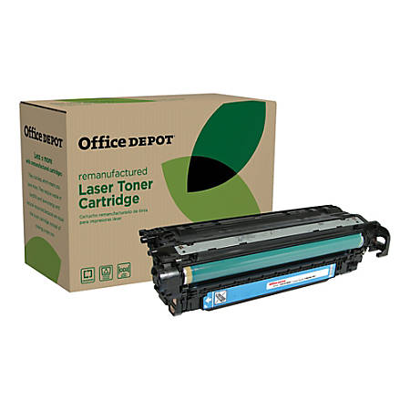 Office Depot® Brand OD3525C (HP 504A / CE251A) Remanufactured Cyan Toner Cartridge
