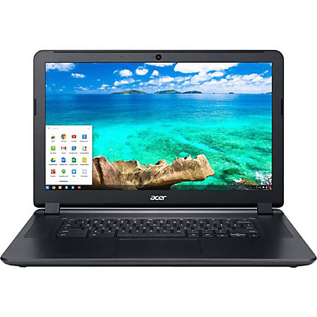"""Acer C910-3916 15.6"""" LCD Chromebook - Intel Core i3 i3-5005U Dual-core (2 Core) 2 GHz - 4 GB DDR3L SDRAM - 32 GB SSD - Chrome OS 64-bit - 1920 x 1080 - ComfyView, In-plane Switching (IPS) Technology - Black"""