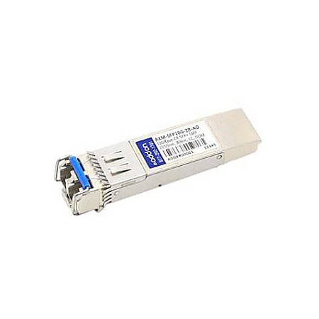 AddOn Netgear Compatible TAA Compliant 10GBase-ZR SFP+ Transceiver (SMF, 1550nm, 80km, LC, DOM)