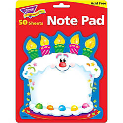 Trend Bright Birthday Shaped Note Pad
