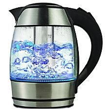 Brentwood KT 1960BK Borosilicate Glass Tea
