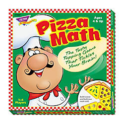 Trend Pizza Math Learning Game ThemeSubject