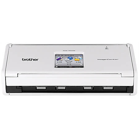 Scanners at office depot officemax brother ads1500w wireless color document scanner reheart Choice Image