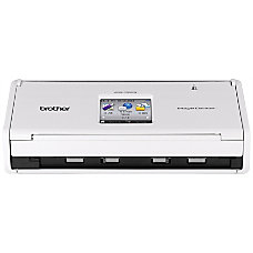 Brother ADS1500W Wireless Color Document Scanner