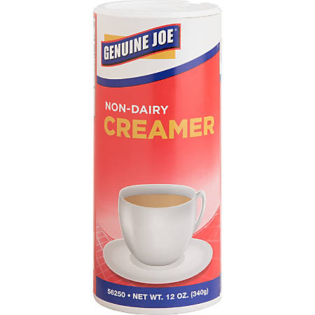 Genuine Joe Non-Dairy Creamer, 12 Oz., Pack Of 3