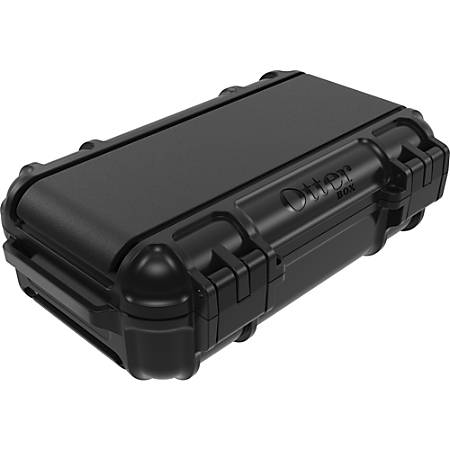 "OtterBox Drybox 3250 Series - Internal Dimensions: 6.89"" Length x 3.70"" Depth x 2.01"" Height - External Dimensions: 6.9"" Length x 5.1"" Depth x 2.6"" Height - 30.48 fl oz - Polycarbonate, Polyethylene, Stainless Steel - Black - For Tablet PC"