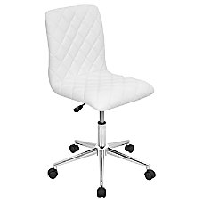 Lumisource Caviar Chair WhiteChrome