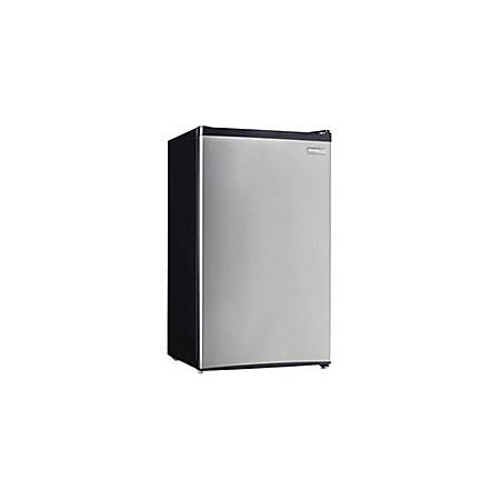 Danby Designer 3.20 Cu Ft Compact Refrigerator With Manual Defrost, Steel