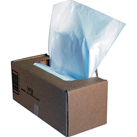 Fellowes® Powershred® Waste Bags, White, Carton Of 50 Bags