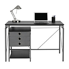 Brenton Studio Achiever Contemporary Metal Desk