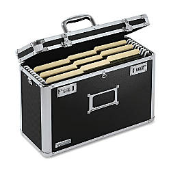 Vaultz Locking File Tote Legal Size