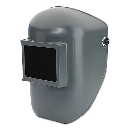 Protective Cap Welding Helmet Shells, #10, Gray, 4 1/2 in x 5 1/4 in