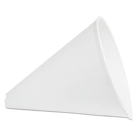 Konie Paper Cone Funnels, 10 Oz, White, Pack Of 8 Funnels