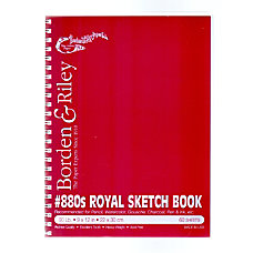 Borden Riley 880 Royal Sketch Paper
