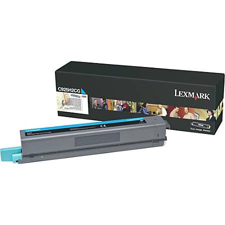 Lexmark™ C925H2CG High-Yield Cyan Toner Cartridge
