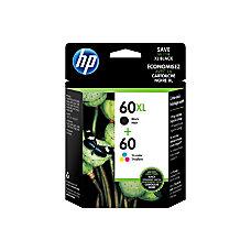 HP 60XL Black 60 Tricolor Original