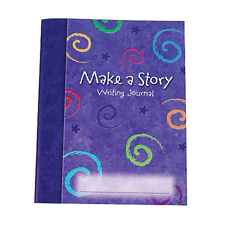 "Learning Resources® Make A Story Writing Journals, 9"" x 6 3/4"", Grades K-12, Pack Of 10"