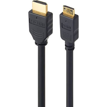 Link Depot HDMI A/V Cable With Ethernet - 3 ft HDMI A/V Cable for Audio/Video Device - HDMI Digital Audio/Video - Black