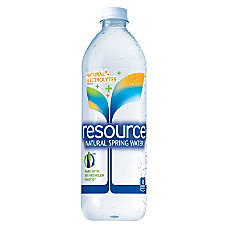 resource Natural Spring Water 236 Oz