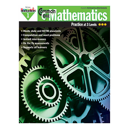 Newmark Learning Common Core Mathematics Book, Grade 1