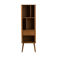 Baxton Studio Bretton 5 Shelf Bookcase