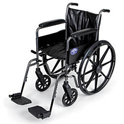 Medline K2 Basic Wheelchair Swing Away