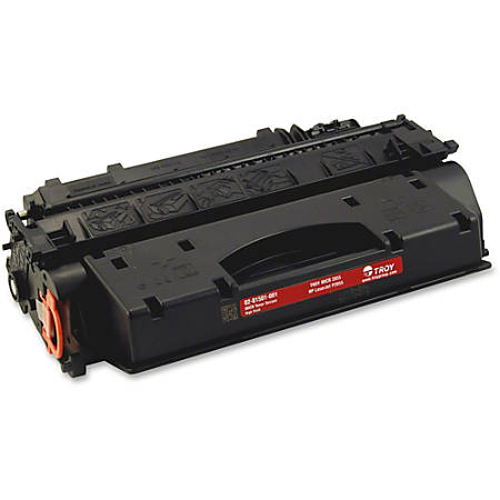 Troy Remanufactured Toner Cartridge - Alternative for HP 05X (CE505X) - Laser - 6500 Pages - Black - 1 Each