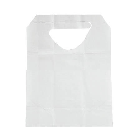 """Medline Adult Tissue/Poly Backed Disposable Bibs, 16"""" x 33"""", Case Of 300"""