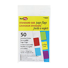 Redi Tag Standard Page Flags Assorted