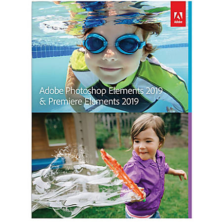 Adobe® Photoshop Elements And Premier Elements 2019, For PC And Apple® Mac®, POS-Activated