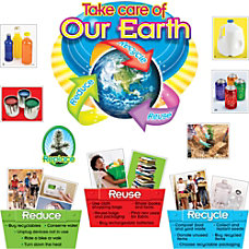 Trend ReduceReuseRecycle Bulletin Board Set Learning